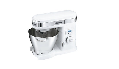 Cuisinart SM-55 5-1/2-Quart 12-Speed Stand Mixer, White