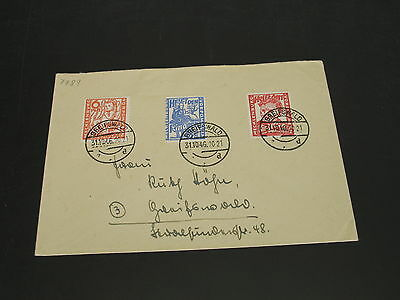 Germany 1946 Greifswald set on cover *7789