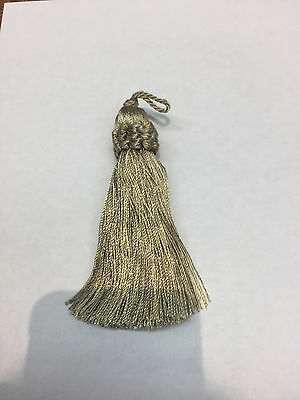 25 pieces light Green Italian Key tassel perfect for runners pillows keychains