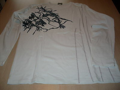 Tee shirt - blanc - taille 44 - manches longues - TBE