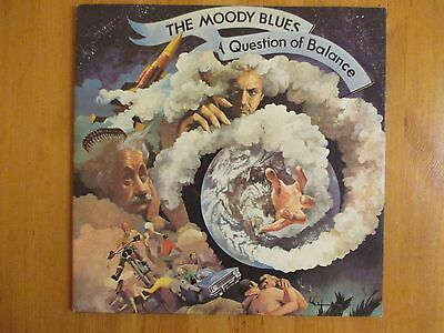 "The Moody Blues - A Question Of Balance - 12"" Vinyl LP Record - With Insert"