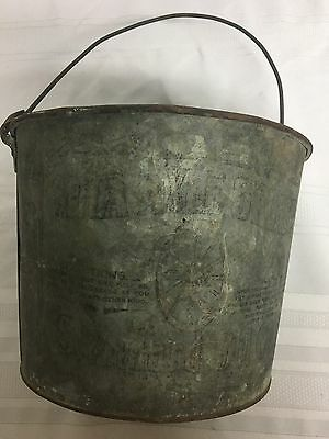Vintage Mica axle grease bucket. Standard Oil Co. Indiana