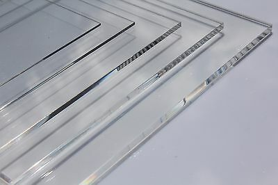 Clear Acrylic Perspex Plastic Sheet Custom Cut To Size Panels Plastic Panel