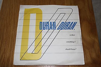 Duran Duran      Is There Something I Shoud Know
