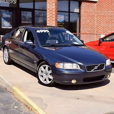 2005 Volvo S60 2.5t FWD 2005 Volvo S80 2.5T FWD Sedan 4-Door 2.5L ONE OWNER Leather MOONROOF Serviced