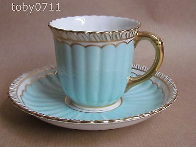 ROYAL CROWN DERBY COFFEE CUP & SAUCER (Ref1974)