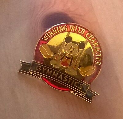 pins disney mickey mouse gymnastique gym winning with chararcter