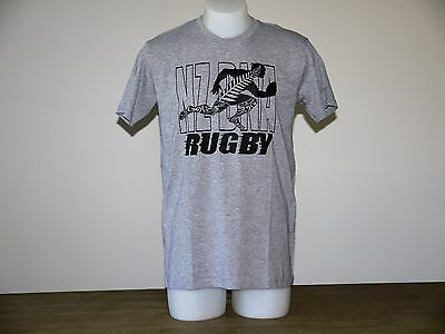 Mens New Zealand DNA Rugby  Grey Tee Size XXL