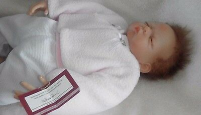 Ashton Drake SWEET DREAMS BELLA New Born Weighted Lifelike Sleeping Baby Doll