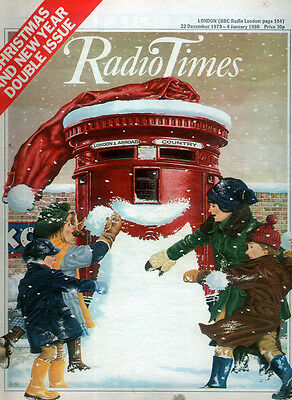 Radio Times 22 Dec 1979 - 4 Jan 1980 . Christmas & New Year Issue . Monty Python