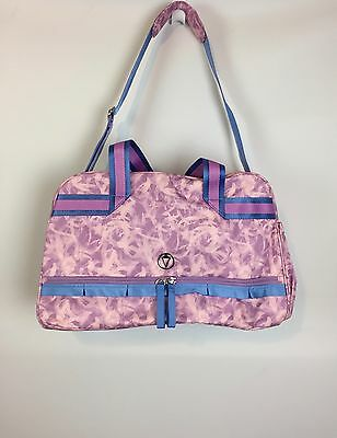Ivivva In The Game Duffle Pink Rose NWT Dance Travel Gym