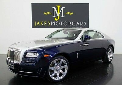 2014 Rolls-Royce Wraith **$365K MSRP!**SPECIAL ORDERED CAR! ROLLS ROYCE WRAITH, $365K MSRP! SPECIAL ORDERED CAR, ONLY 3100 MILES! LOADED!