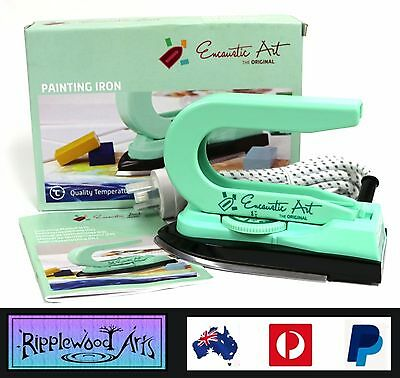 Encaustic Art - Dual Purpose - Low Heat - Temperature Controlled Painting Iron