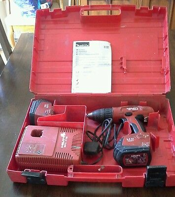 Hilti Sf150-A Battery Drill / Driver +Spare Battery + Charger + Case