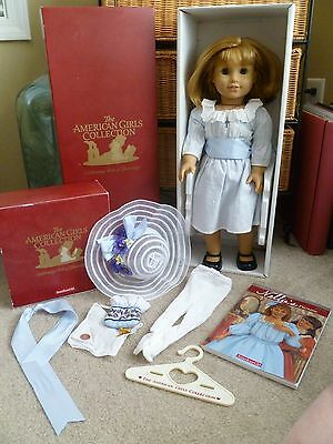 Authentic Retired American Girl Doll Nellie w/ Accessories & Box