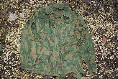 Original Russian Army Spetsnaz Camo Suit(Jacket&Pants).Size 48-2,VSR-93,1993.