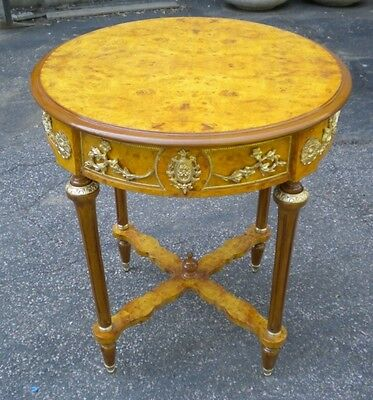 in 6 weeks gorgeous louis XV style side  center table