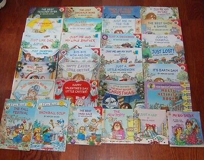 LITTLE CRITTER Large Set of 30 Books by Mercer Mayer Huge Lot Picture Books