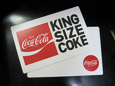 4 Coca-Cola Reversible Placemats - FREE SHIPPING!