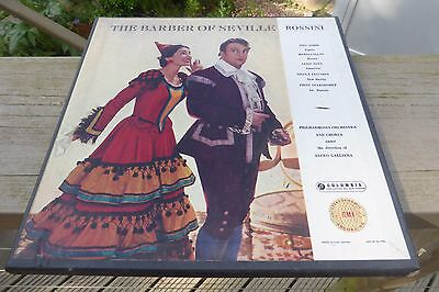 Rossini The Barber of Seville Columbia Stereo Red S/C SAX 2266/8 3LP UK Set