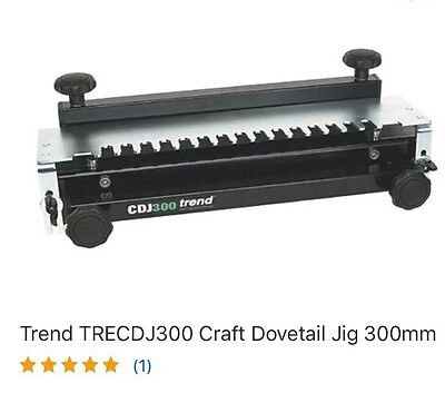 TREND dovetail jig CDJ 300 Used ESSEX