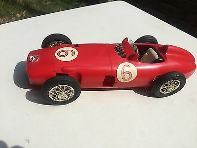 Rare Vintage Cox Mercedes-Benz W-196 Gas-Powered Tether Car, 1/11 Scale