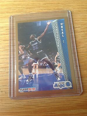 SHAQ NBA Basketball Trading Card Vintage 1992 Fleer