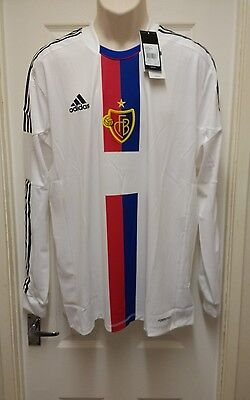 Fc Basel 1893 Player Issue Away Football Shirt 2012-2014 Adults Xl New With Tags