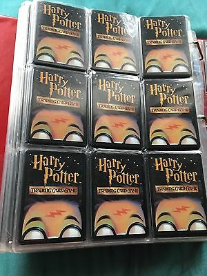 lot of 100 harry potter trading cards