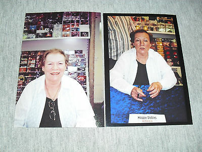 Maggie Stables 6x4 Photograph Set. Tv Actress Model Doctor Who Evelyn Smythe