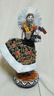TALAVERA ceramic from the day of the dead Collection  TEHUANA