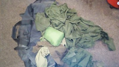 British ARMY Black Deployment Bag  new WITH KIT