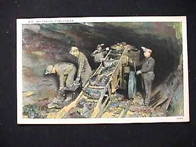 Mechanical Coal Loader Early One Cent Postcard View