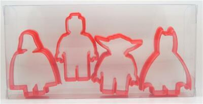 Mini Figures Set of 4, Cookie Cutters