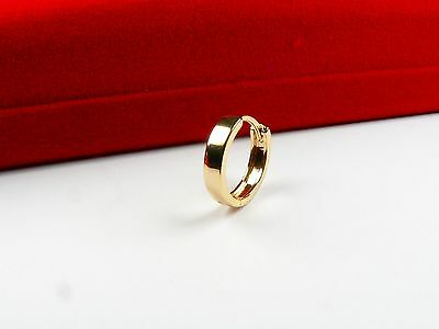 18ct real gold GF men's single earring, weight 0.7g