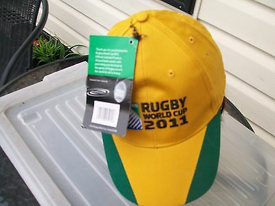 supporters hat  wallaby wallabies team rugby union 2011 world cup
