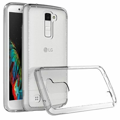 Shockproof Slim TPU Rubber Silicone Gel Soft Clear Case Thin Cover For LG Phone