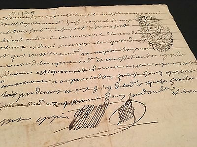 Old Document 1725