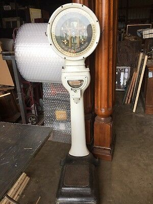 Antique Toledo Lollipop Your Weight Is Free Scale
