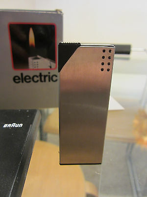 "Vintage Braun 'electric' Pocket Lighter Designed By ""The Gugelot Institut"" 1972"
