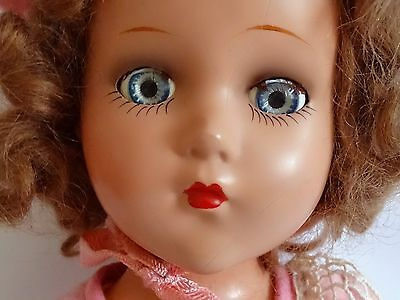 """BEAUTIFUL ! Vintage NANCY LEE Composition Doll 17"""" by Arranbee"""