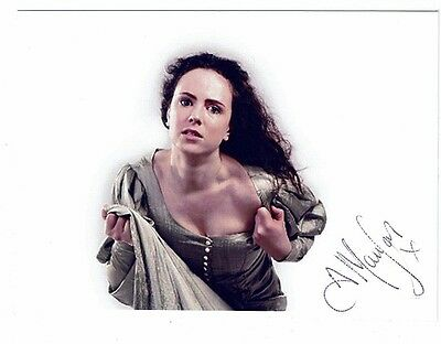 Amy Manson Actress Torchwood Hand Signed  Photograph 7 x 5
