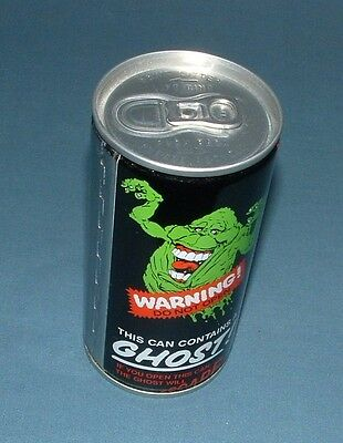 Coca Cola Ghostbusters Promotional Can - 1989 - New Sealed Can