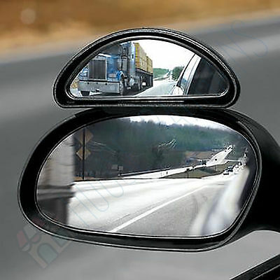 Adjustable Blind Spot Mirrors Wing Car Driving Safety Clamp Wide Angle Towing