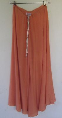 amazing HOLLY'S HARP nypmh label pure silk wide wide wide pallazo pants