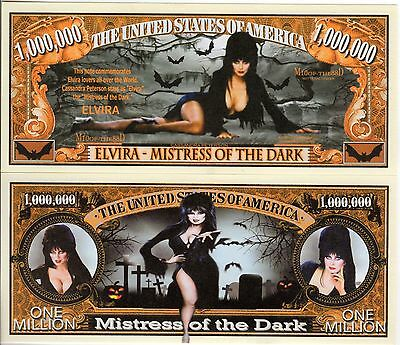 Elvira Mistress of the Dark Million Dollar Novelty Money