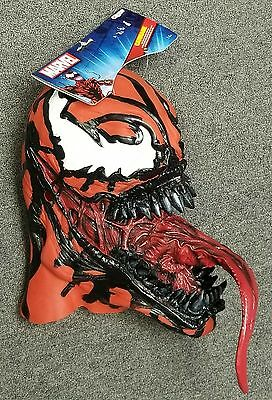 Carnage Deluxe Adult Vinyl Mask From Disguise 2014 New/ W/tag Spider-Man Marvel!