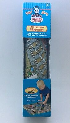 Thomas The Tank Train And Friends The Island Of Sodor Playmat Take Along