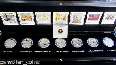 CANADA 2012-2013 Group of Seven $20 Proof Coin Silver Set * Box Only * SOLD OUT