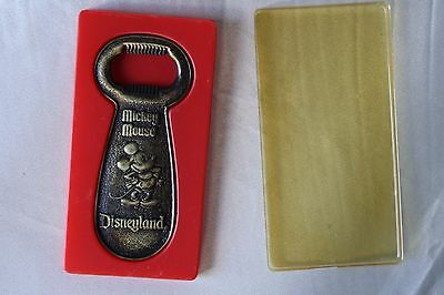 1980s Mickey Mouse Disneyland Bottle Opener Made in Canada